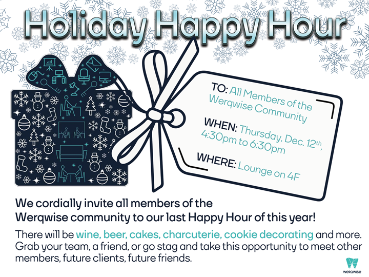 Member Holiday Happy Hour